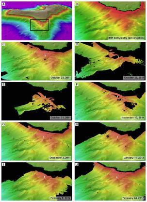 Underwater Eruption Shows How Volcanic Islands Grow