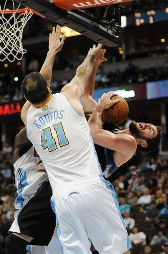 Nuggets hold off Wolves for 113-107 win