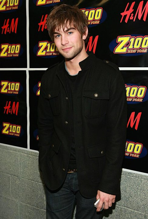 Chace Crawford backstage at Z100's Jingle Ball Concert in New York City - 12/14/2007