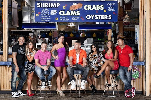 This undated image released by MTV shows the cast of