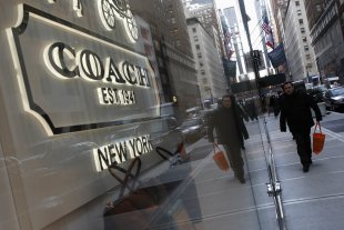 Coach Store: Credit Reuters