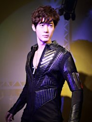 Kim Hyun Joong&#39;s wax figure to be on display
