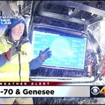 Mobile Weather Lab Tracks Snowfall In Winter Storm Watch