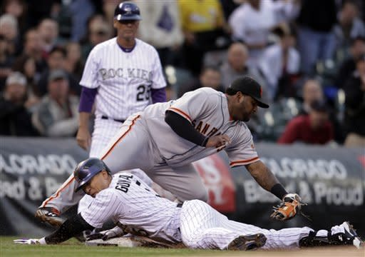 Rockies rough up Giants, Lincecum 17-8