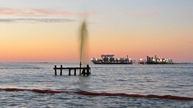 Coast Guard Responds to Oil Spill Off Louisiana Shore (ABC News)