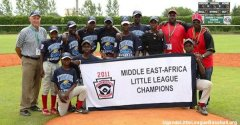 The Reverend John Foundation Little League baseball team from Uganda