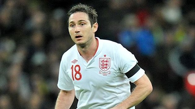 Frank Lampard has 95 England caps to his name