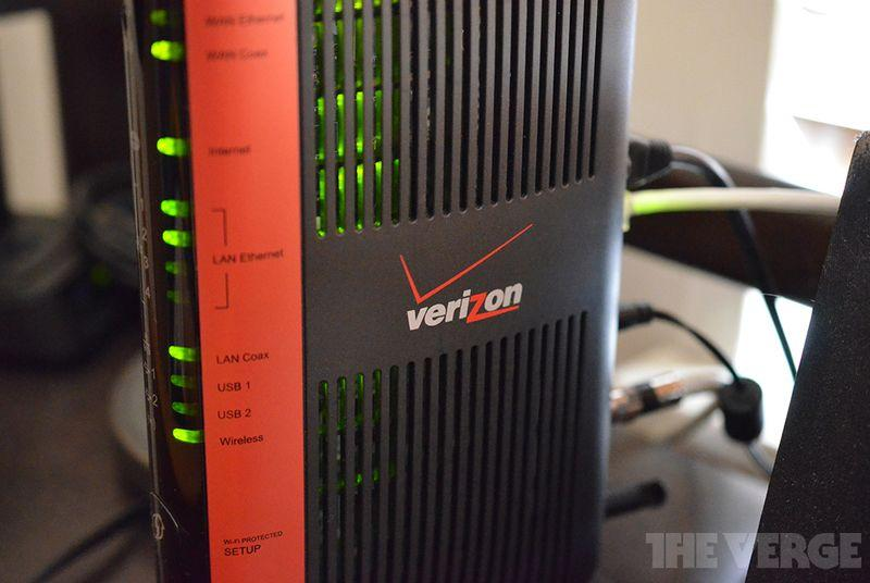Verizon warns unlimited data FiOS customer for using too much data