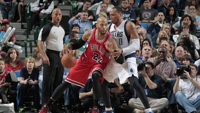 Gibson, Bulls overtake Mavs in 4th for 100-91 win