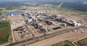 A Nexen oil sands facility seen from a helicopter near Fort McMurray, Alta., Tuesday, July 10, 2012. The Chinese National Offshore Oil Corp.'s bid to buy Calgary oil producer Nexen Inc. is posing a conundrum to Canada's governments and its people: what do we do when wealthy state-owned enterprises come calling? THE CANADIAN PRESS/Jeff McIntosh