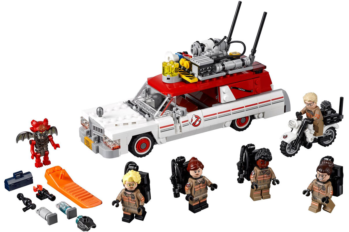 Check out the new 'Ghostbusters' Lego set (which might have a spoiler)