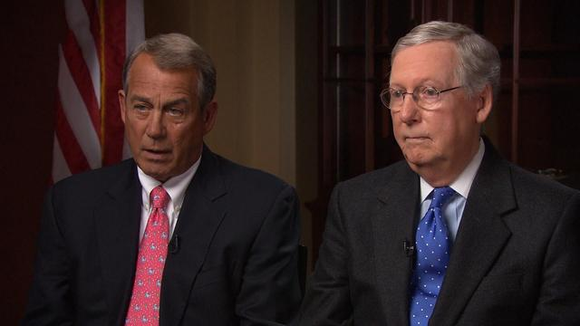 Republican leaders address Obamacare