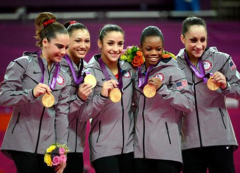 Lady Gaga, Justin Bieber Congratulate Team USA Gymnasts
