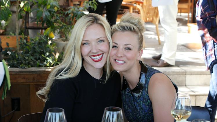 FILE - This Wednesday, March 13, 2013 publicity photo provided by The Hollywood Reporter shows Tara Swennen and Kaley Cuoco at The Hollywood Reporter and Jimmy Choo Celebration of the Most Powerful Stylists in Hollywood, in Los Angeles. (AP Photo/The Hollywood Reporter, Eric Charbonneau)