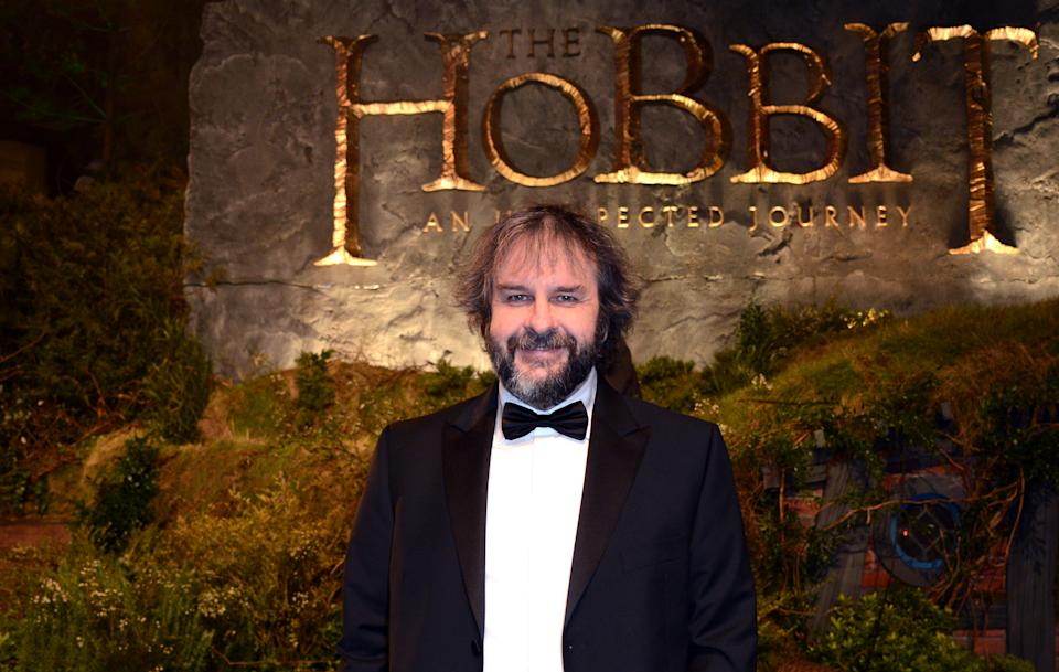 "Director Peter Jackson arrives at the UK premiere of ""The Hobbit: An Unexpected Journey"" at The Odeon Leicester Square, London on Wednesday, Dec. 12, 2012. (Photo by Jon Furniss/Invision/AP)"