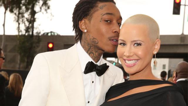 Wiz Khalifa & Amber Rose Tie the Knot