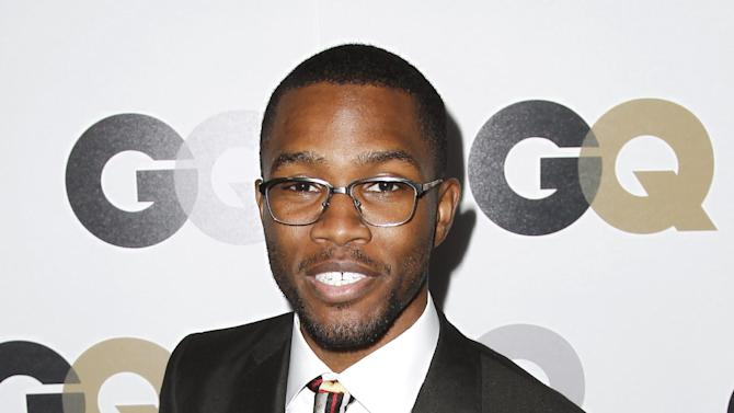 "FILE - This Nov. 17, 2011 file photo shows musician Frank Ocean at the 16th annual GQ ""Men of the Year"" party in Los Angeles. A Los Angeles County Sheriff's Department spokesman said Monday Feb. 4, 2013, that the agency expects to close its investigation into a fight between Brown and Ocean last month due to online comments Ocean recently posted stating he was not interested in pressing charges against Brown.  (AP Photo/Matt Sayles, file)"
