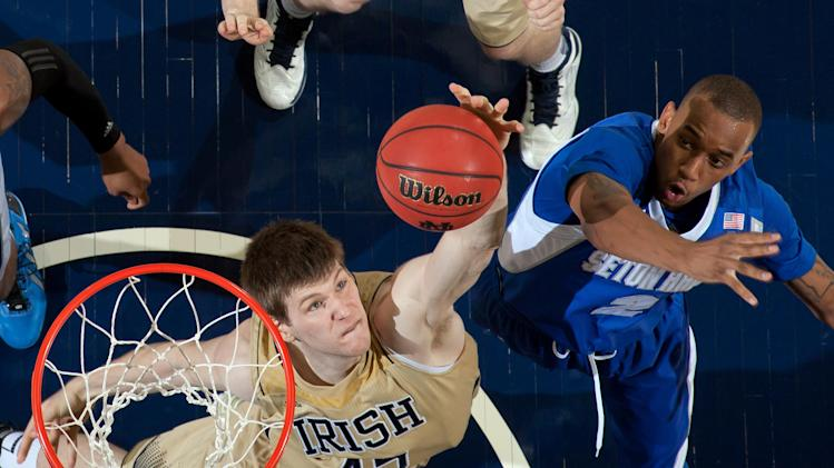 NCAA Basketball: Seton Hall at Notre Dame