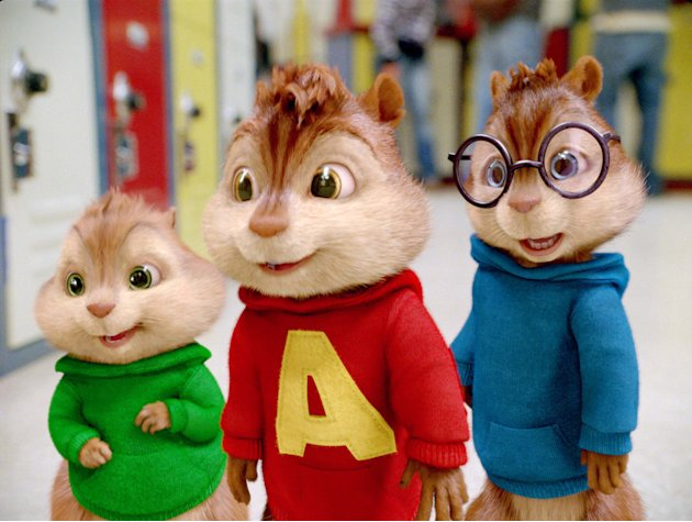 Alvin and the Chipmunks The Squeakquel 2009 Production photos 20th Century Fox