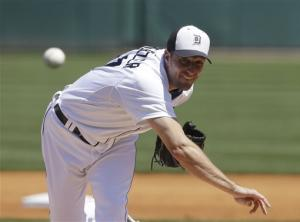 Tigers' Scherzer dominant for 6 innings