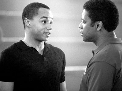 Donald Faison and Denzel Washington in Walt Disney Pictures' Remember The Titans