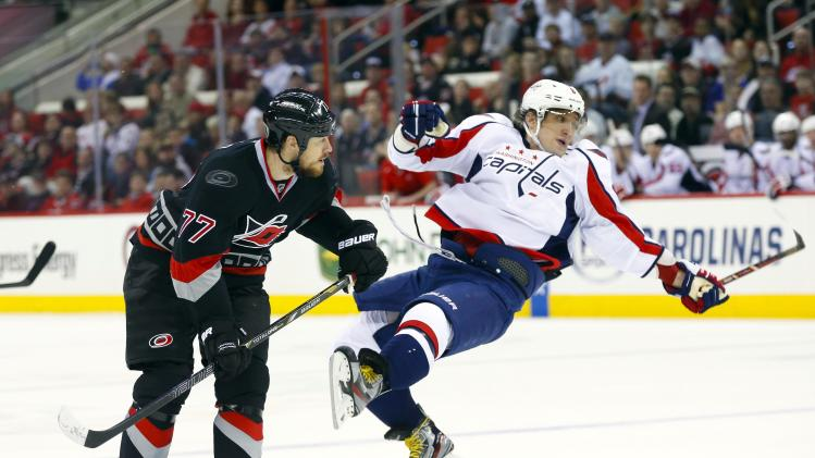 NHL: Washington Capitals at Carolina Hurricanes
