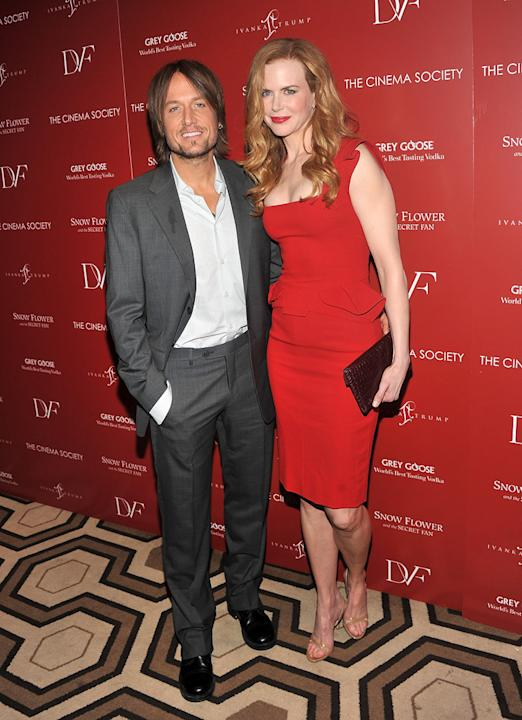Snow Flower and the Secret Fan NY Screening 2011 Keith Urban Nicol Kidman