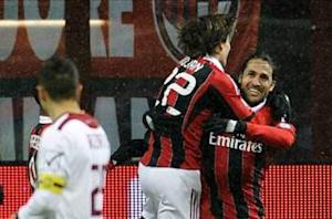 AC Milan 3-0 Reggina: Rampant Rossoneri set up Coppa clash with Juventus