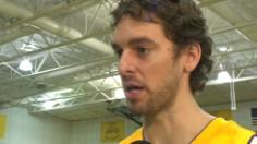 Pau Gasol Media Day Interview