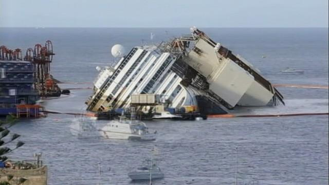 Costa Concordia Rises in 60 Seconds