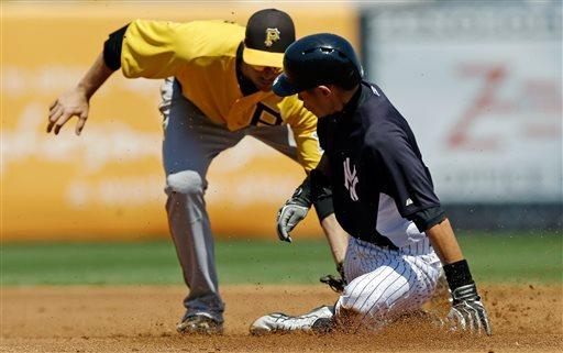 Overbay looks to be top choice as 1B for Yankees