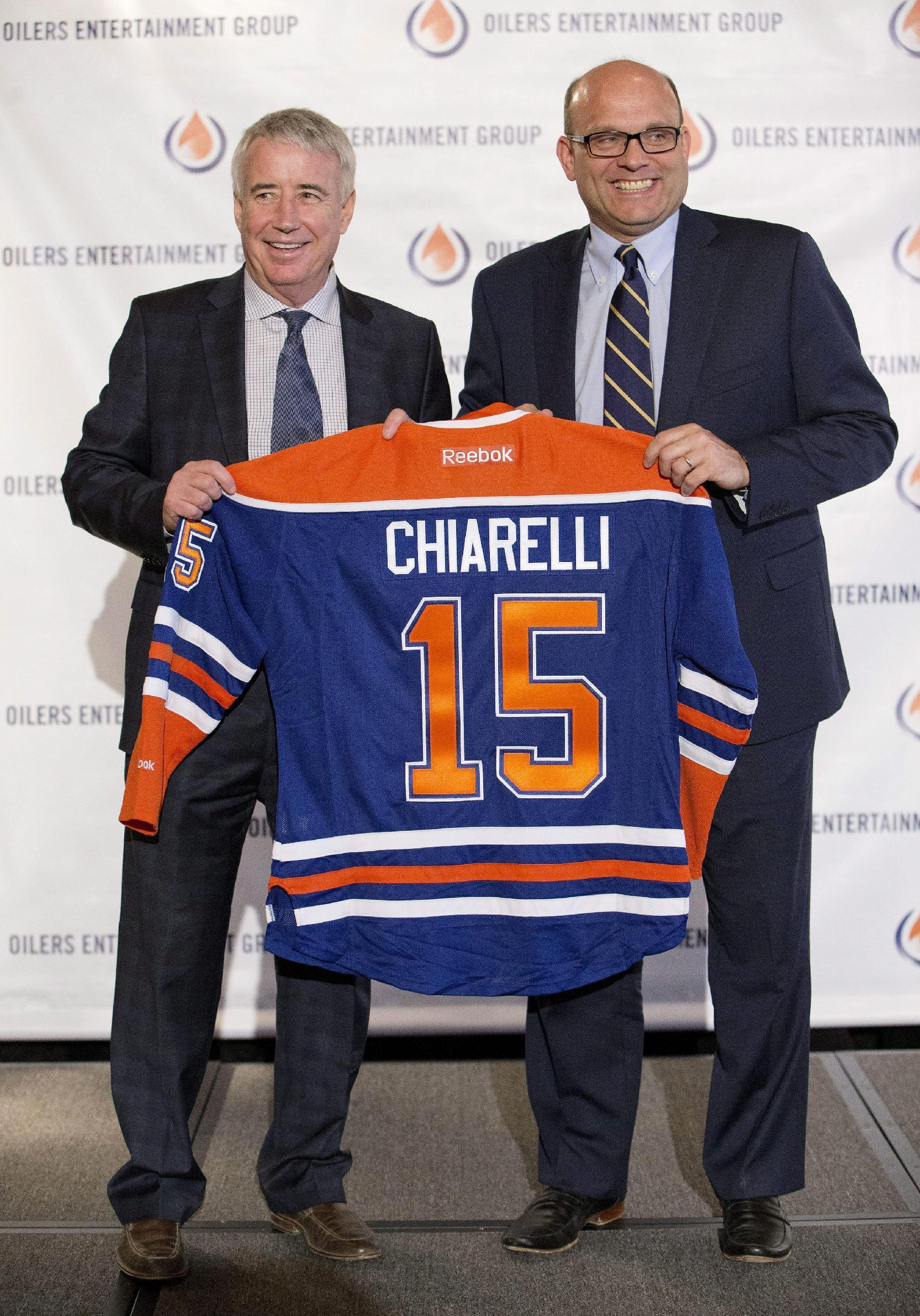 Oilers overhaul front office after disappointing season