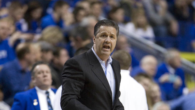 NCAA Basketball: Louisiana State at Kentucky
