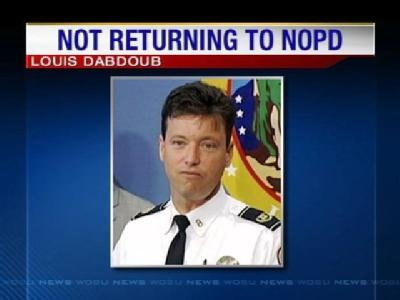 Former NOPD Captain Will Not Return To The Force