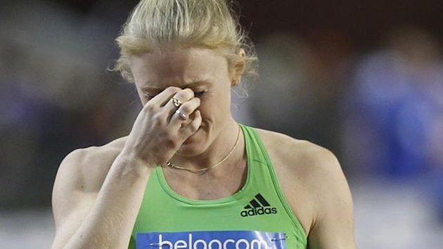 2011 ATHLETICS Australia's Sally Pearson