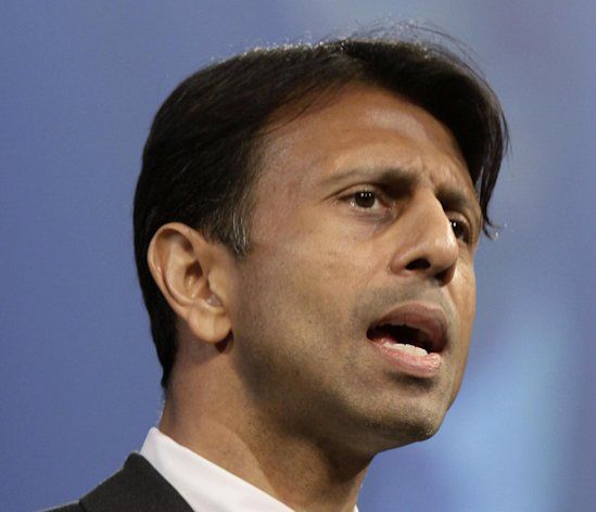 FILE - In this July 27, 2012 file photo, Louisiana Gov. Bobby Jindal speaks in Hot Springs, Ark. Jindal and New Jersey Gov. Chris Christie have been tapped to lead the Republican Governors Association. Both are Republican rising stars considered likely White House contenders in 2016 if Mitt Romney loses in November. Jindal will chair the group next year, with Wisconsin Gov. Scott Walker as vice-chair. Christie is set to take over in 2014 _ a clear sign he may seek re-election in 2013. Christie has said hes still mulling that decision. (AP Photo/Danny Johnston, File)