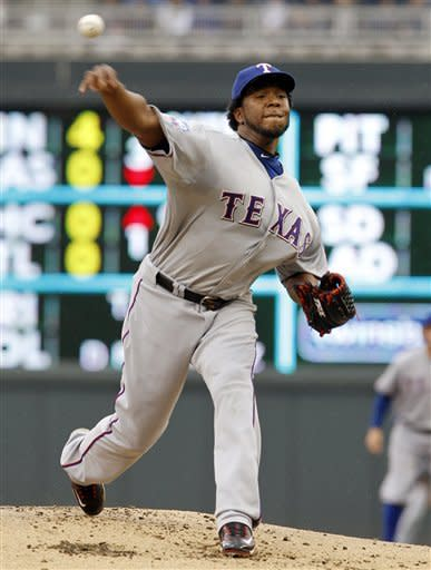 Rangers rally past Twins 4-3, Nathan gets save