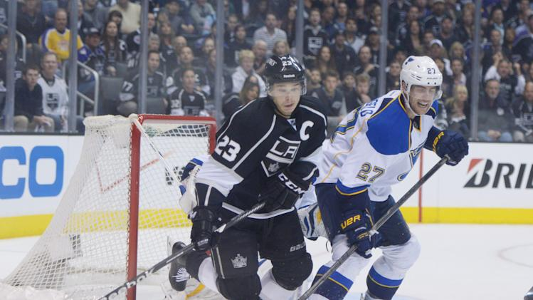NHL: Stanley Cup Playoffs-St. Louis Blues at Los Angeles Kings
