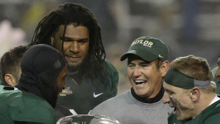 Baylor's Briles unanimous AP Big 12 coach of year