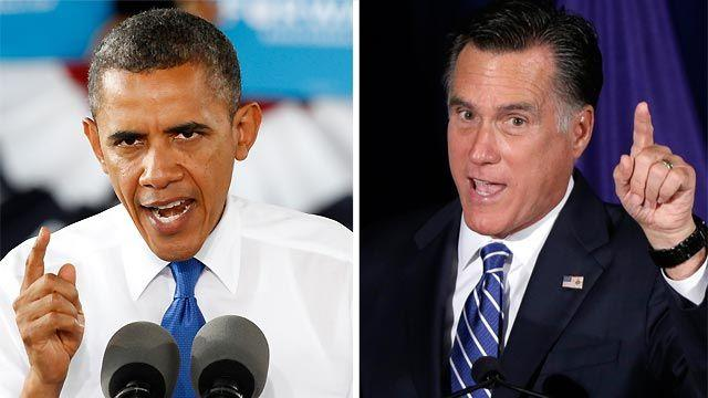 Romney, Obama trade fire in Virginia