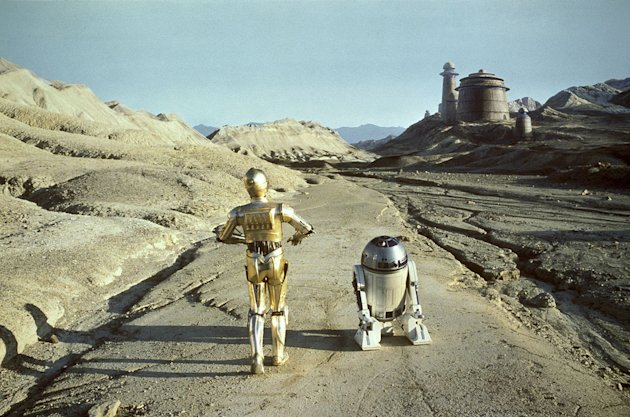Return of the Jedi 20th Century Fox 1983 Production Photos Anthony Daniels Kenny Baker
