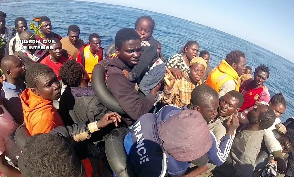 Nearly 200 African migrants rescued off Spain