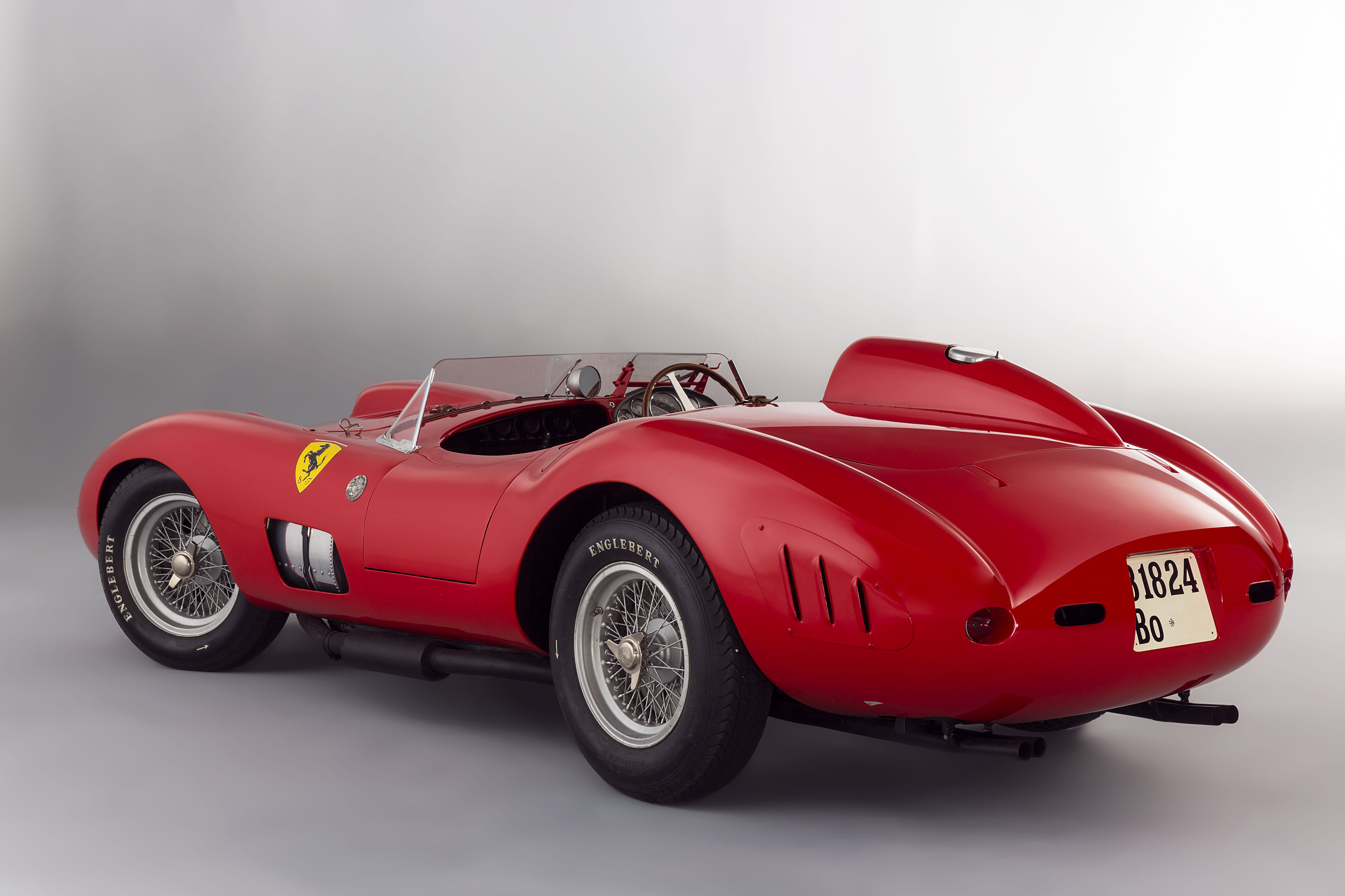 Stunning Ferrari race car sells for $35.7 million, just short of world record price