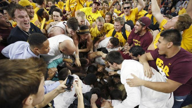 Sun Devils earn huge victory over rival Wildcats