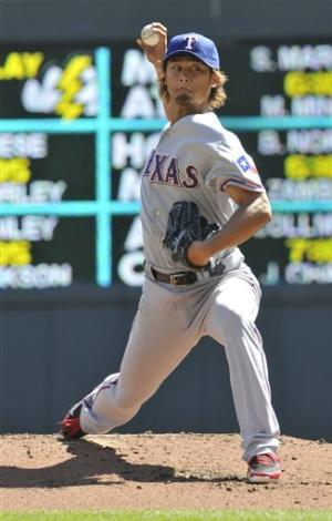 Darvish leads Rangers over Twins