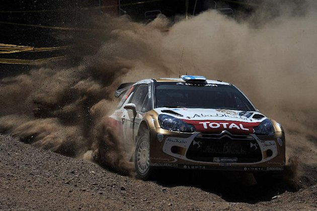 Greece Rally Motor Racing