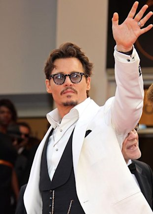 Johnny Depp / Yahoo! OMG!