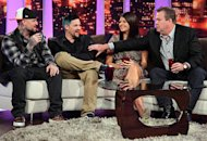 Benji Madden, Joel Madden, Casey Wilson and Eric Stonestreet | Photo Credits: FoxTel