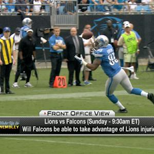 Casserly: The Detroit Lions' injuries give the Altanta Falcons a shot