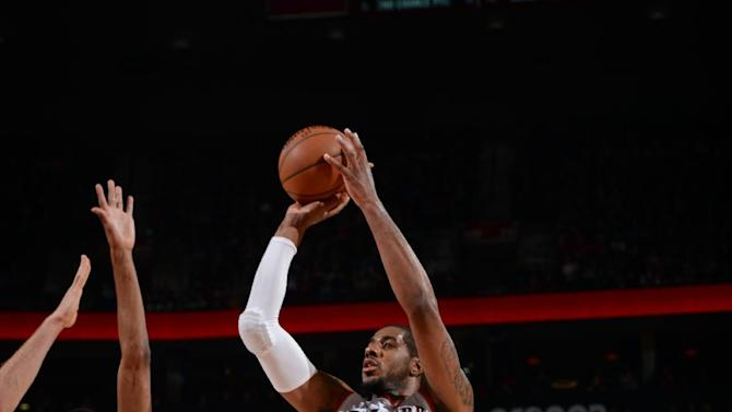 Blazers beat shorthanded TWolves 107-93